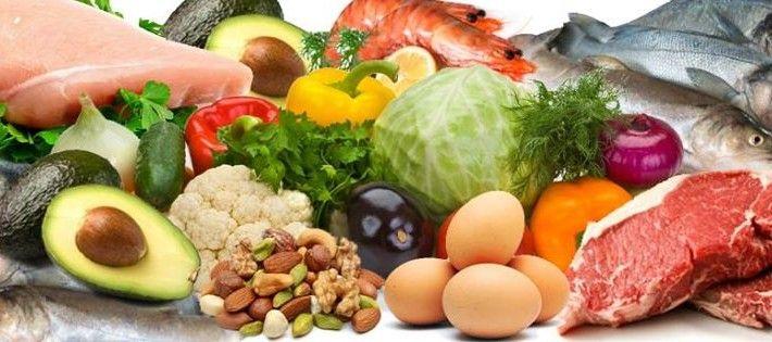 Dieta Cetogênica - diversos alimentos