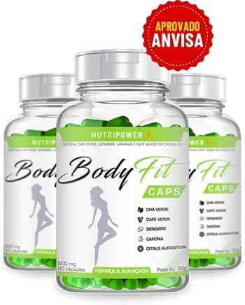 Bodyfit Caps aprovado pela Anvisa