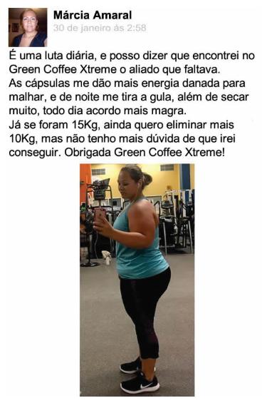 Depoimento Green Coffee Xtreme