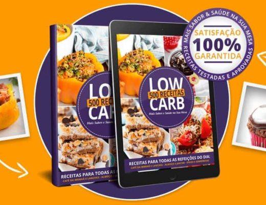 500 receitas low carb